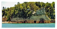 Pictured Rock 6323  Beach Towel
