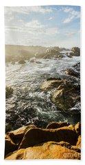 Picturesque Australian Beach Landscape Beach Towel