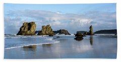 Picturesque Rocks Beach Towel