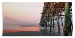 Pier And Surf Beach Towel