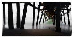 Beach Sheet featuring the photograph Pier Pressure by Sean Foster