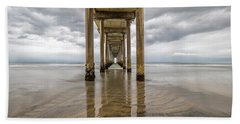 Pier Review Beach Towel