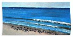 Pigeon Picnic Beach Sheet