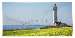 Pigeon Point Light Station Historic Park Beach Sheet