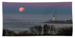 Pigeon Point Supermoon Beach Towel