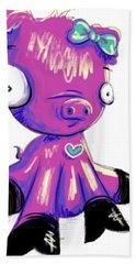 Piggy  Beach Towel by Lizzy Love