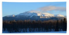 Pikes Peak From Cr511 Divide Co Beach Towel