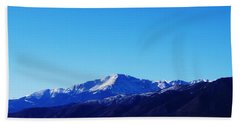 Pikes Peak Beach Towel by Joseph Frank Baraba