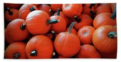 Pile Of Pumpkins Beach Towel