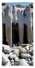 Pillars At Crowley Lake Beach Sheet