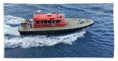 Pilot Boat In Bermuda Beach Sheet