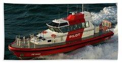 Pilot Boat Wellington Beach Sheet