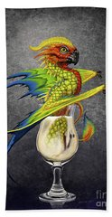 Pina Colada Dragon Beach Towel