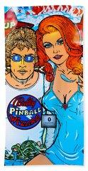 Pinball Wizard Beach Sheet