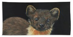 Pine Marten Beach Towel