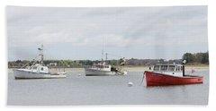 Pine Point Boats Beach Sheet