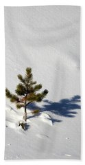 Pine Shadow Beach Towel