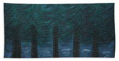 Pine Tree Lake Beach Towel
