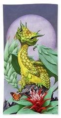 Pineapple Dragon Beach Towel