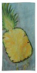 Pineapple Beach Towel by Jane See