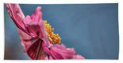 Beach Towel featuring the photograph Pink And Yellow Profile #h8 by Leif Sohlman