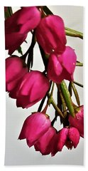 Pink Bells Beach Towel