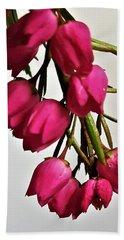 Pink Bells Beach Sheet