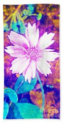 Pink Bloom Beach Towel by Rachel Hannah
