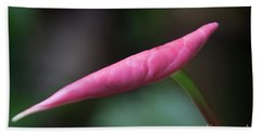 Pink Bud Beach Sheet
