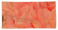 Pink Carnations Beach Sheet