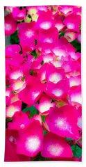Pink Cascade Beach Sheet