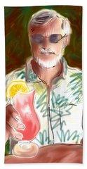 Pink Drink Beach Sheet