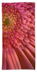 Pink Flower Beach Sheet