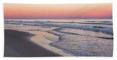 Pink Glow Seaside New Jersey 2017 Beach Towel