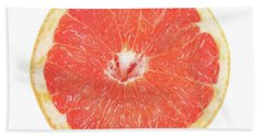 Pink Grapefruit Beach Towel by James BO  Insogna