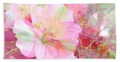 Pink Heaven Beach Sheet