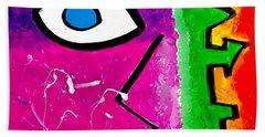 Pink Is The New Blue Beach Sheet