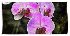 Pink Orchid Beach Sheet