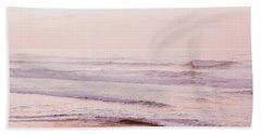 Pink Pacific Beach Beach Towel