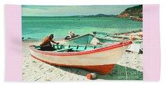 Pink Panga Of La Paz, B.c.s. Beach Sheet