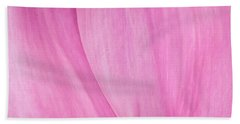 Beach Towel featuring the photograph Pink Peony Perfection by David Coblitz