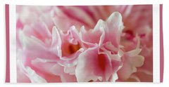 Beach Towel featuring the photograph Pink Perfection by Wendy Wilton