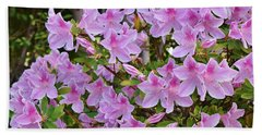 Pink Rhododendron 1  Beach Towel