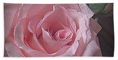 Pink Rose Bliss Beach Towel by Suzy Piatt