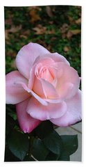 Beach Sheet featuring the photograph Pink Rose by Carla Parris