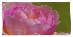 Pink Rose #d3 Beach Towel