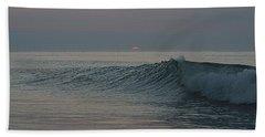Pink Sun Sunrise Beach Towel
