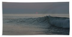 Pink Sun Sunrise Beach Towel
