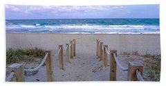 Pink Sunrise Beach Treasure Coast Florida C6 Beach Sheet