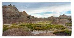 Pinnacles Of The Badlands Beach Sheet